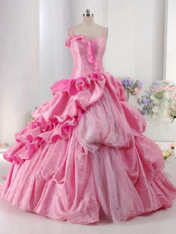 ball-gown-spaghetti-strap-chapel-train-pink-taffeta-color-dress-pclbjp0029-a_1