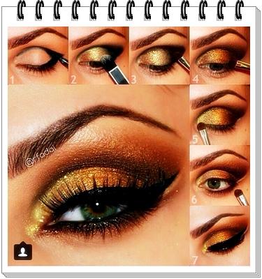 Orange and Brown Eyes