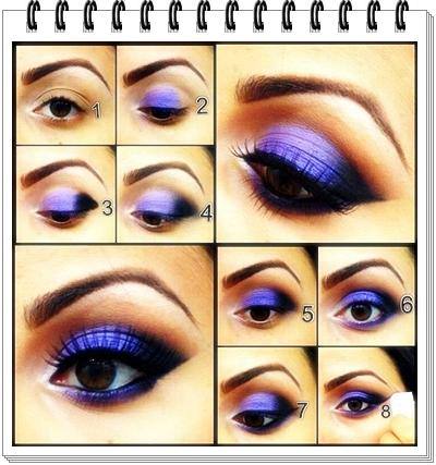 Bold Purple Eyes