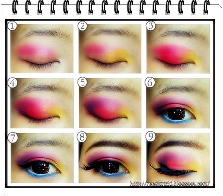 Cat's pink Eyes