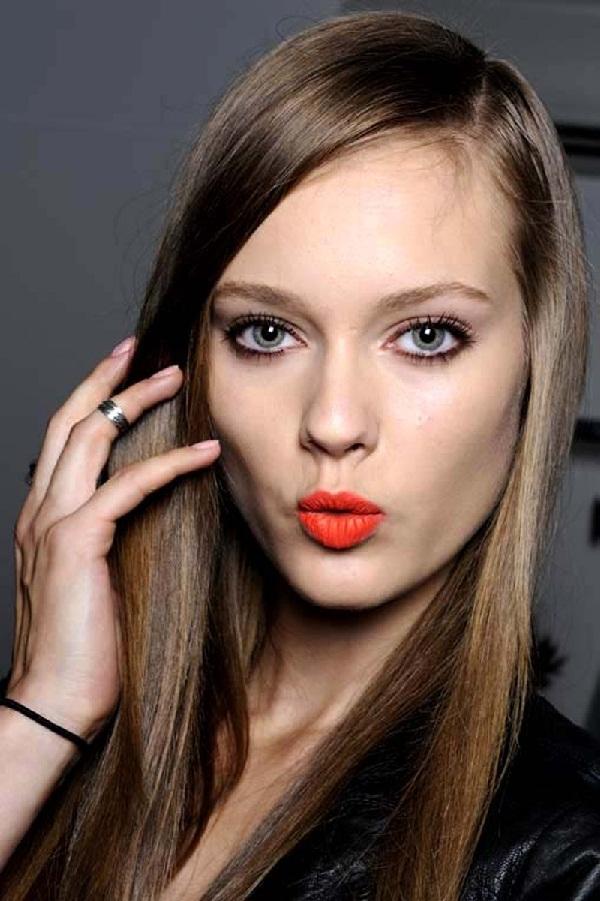 Orange Lipstick 4
