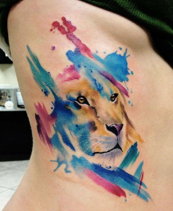 Leo tattoo design (20)
