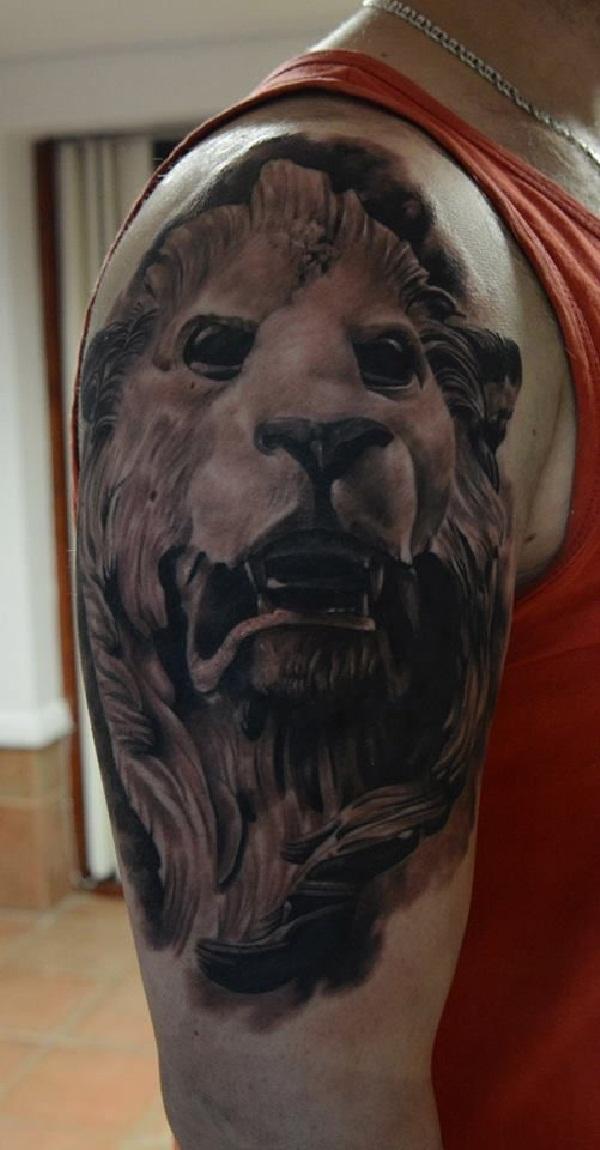 Leo tattoo design (27)