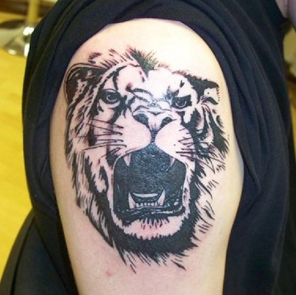 Leo tattoo design (5)