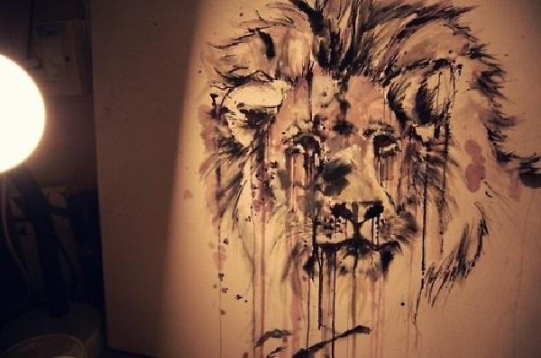 Leo tattoo design (6)